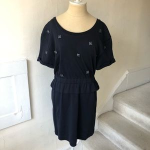 Marc by Marc Jacobs Studded Short Sleeve Dress